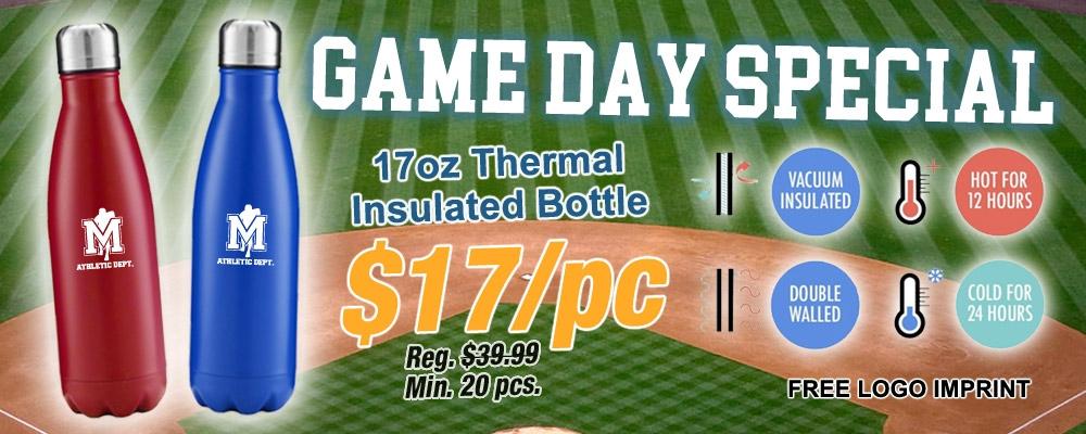 17oz Thermal Bottles